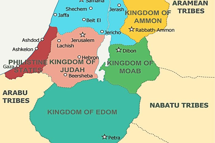 Edom-and-Surrounding-Kingdoms