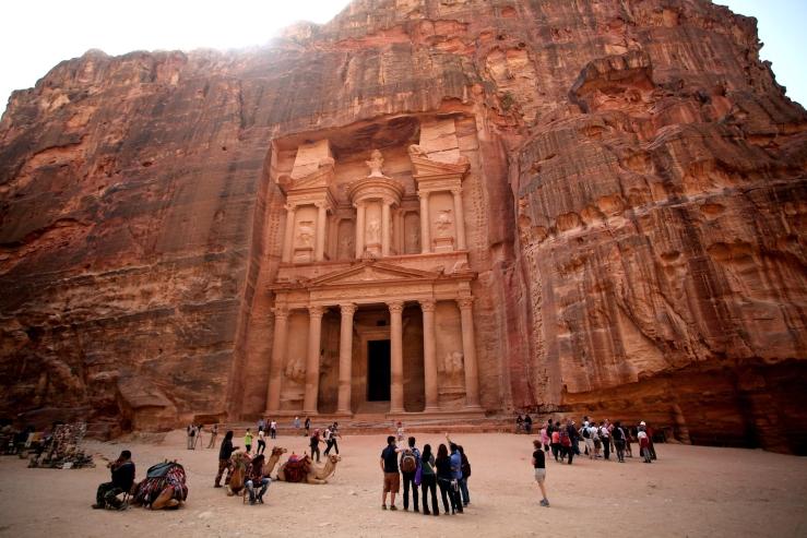 Mideast Jordan Petra Ecotourism